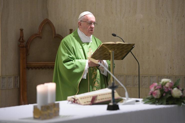 Messe du 8 juin 2017 à Sainte-Marthe © L'Osservatore Romano
