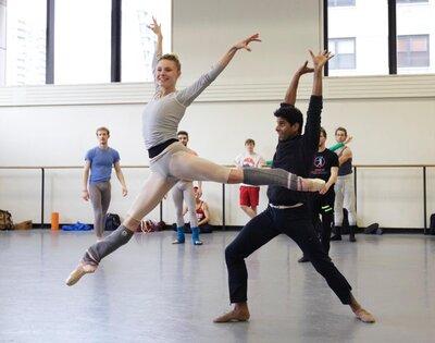 dance ballet class ballet partners