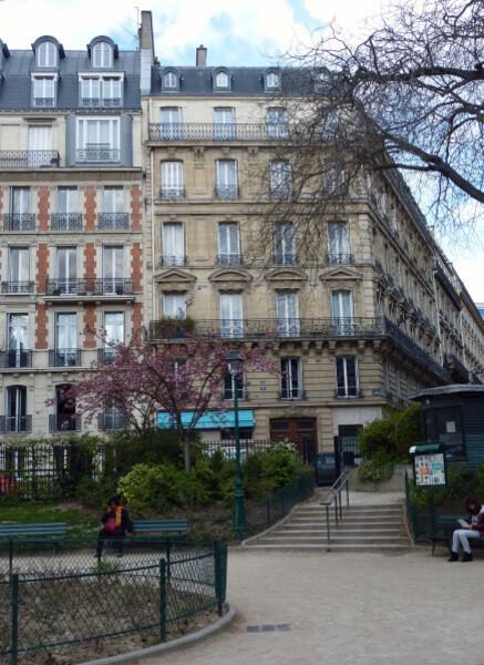 32 - Square Marcel Pagnol immeuble Haussmanien