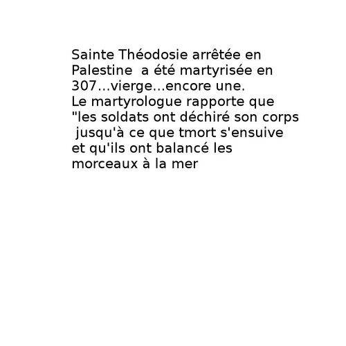 sainte Théodosie