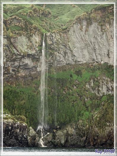Cascades - Quest Bay - Gough Island - Tristan da Cunha