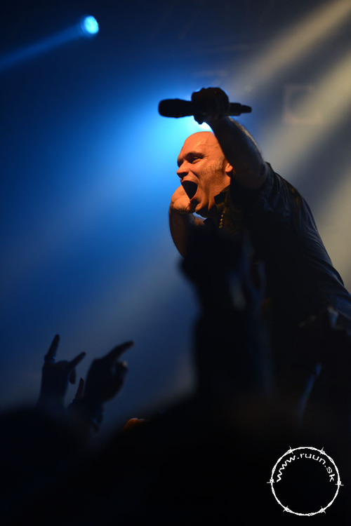 Blaze Bayley live on stage