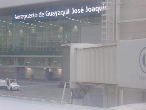 Aéroports de Guayaquil, Amsterdam, Paris