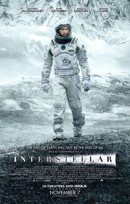"Bonsoir a l'honneur : "" Interstellar """