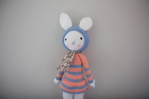 Mylène - Crochet : Un doudou Josephine