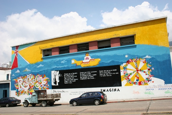 le street art au Vénézuela;