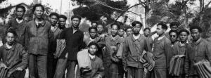 Arrivée d'Indochinois à Marseille en 1940