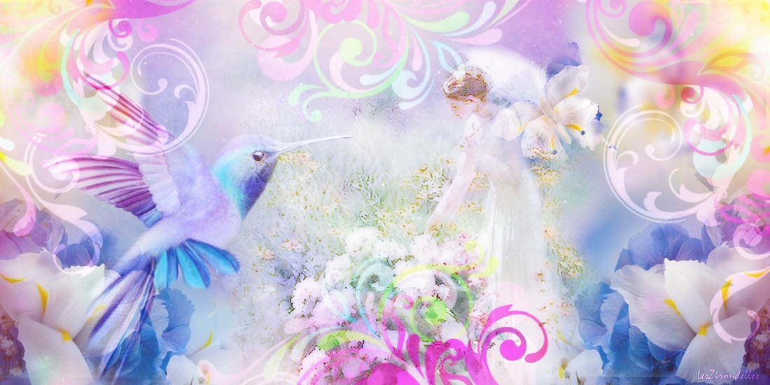 Grands fonds printemps/été, couleurs douces