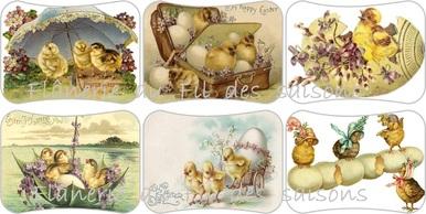 Pour préparer Pâques - Cartonnettes