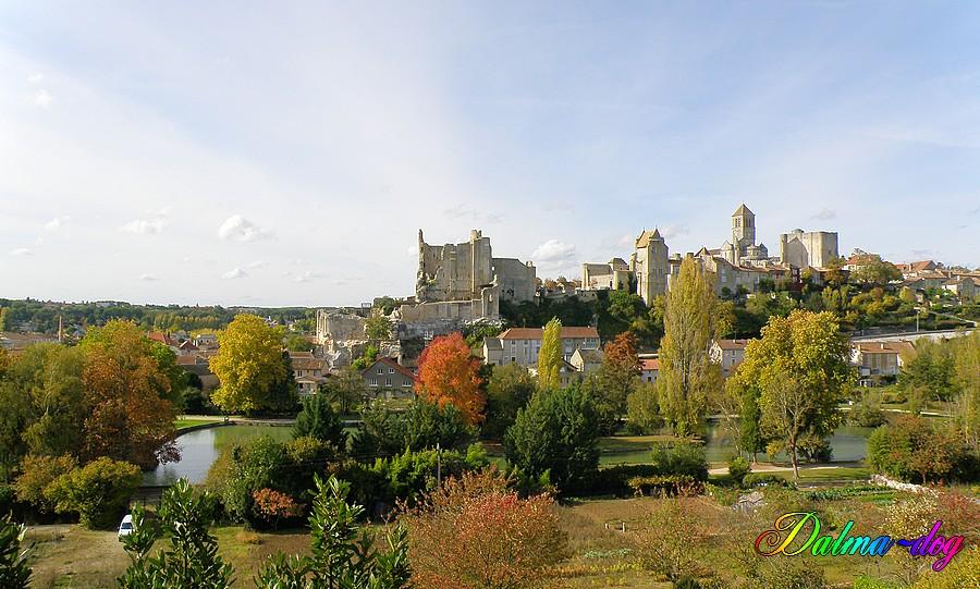 le chateau de Chauvigny