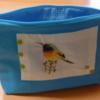 CATHERINE intérieur pochette oiseau