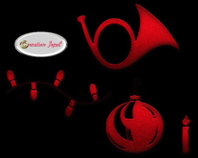 Kits rouge et vert pour les fêtes