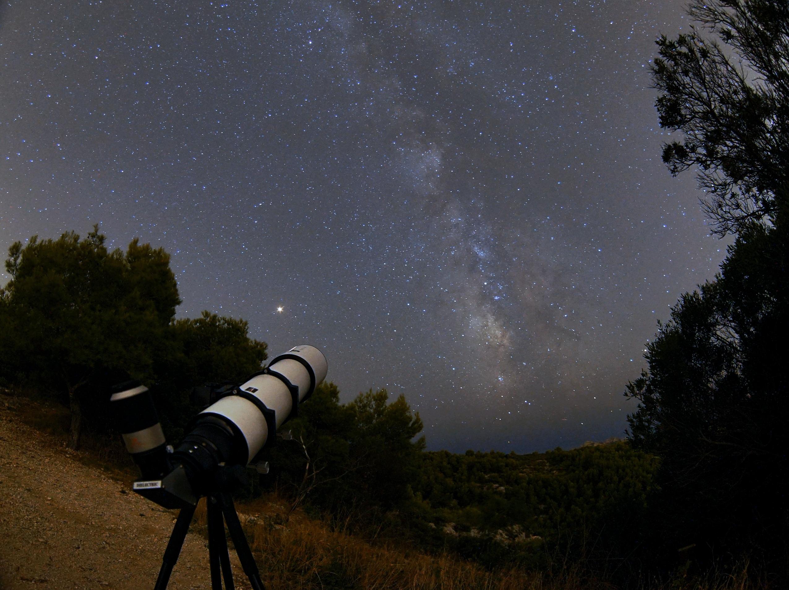 Voie Lactée à Morgiou