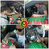 2018 Les joueurs de PSG saignent des autographes sur le plus cher maillot en Algérie