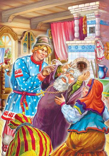 Conte du pope et de son ouvrier Ballot