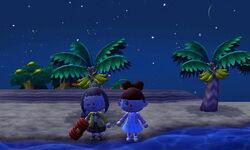 Sur l'île avec Miss.disney et La fan de disney