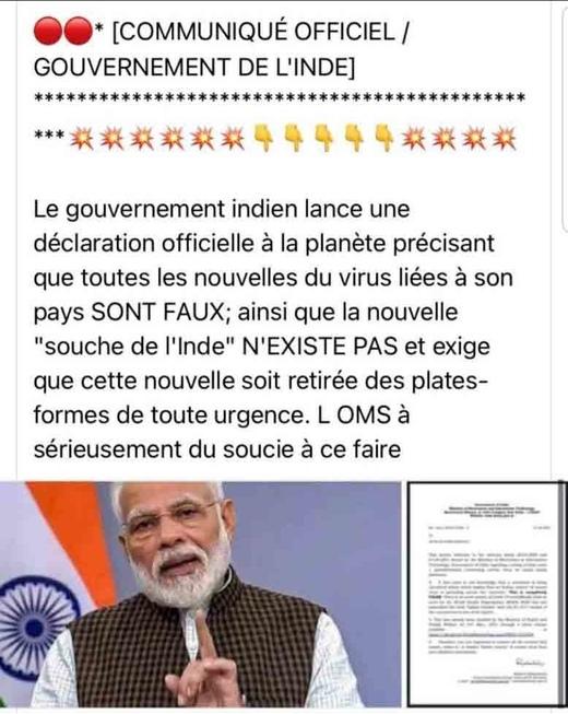 A propos de l'Inde...