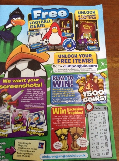 Magazine Club Penguin juin 2014