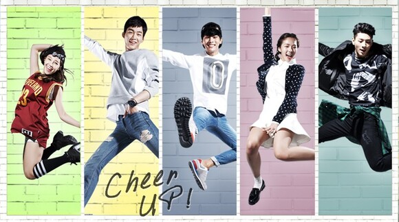 1ere impression • CHEER UP ! ~ ep1 & 2 (k-drama)