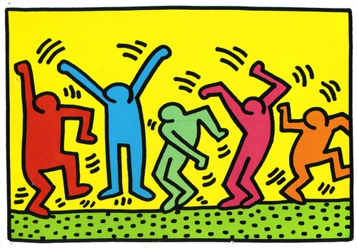 Keith HARING - Les silhouettes