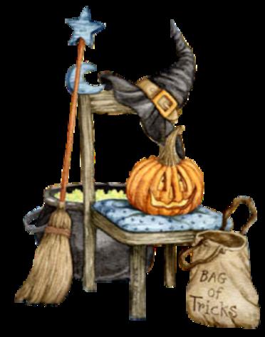 Eléments de Déco Halloween Série 4