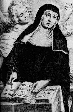 Sainte Elisabeth de Schönau. Visionnaire allemande († 1164)