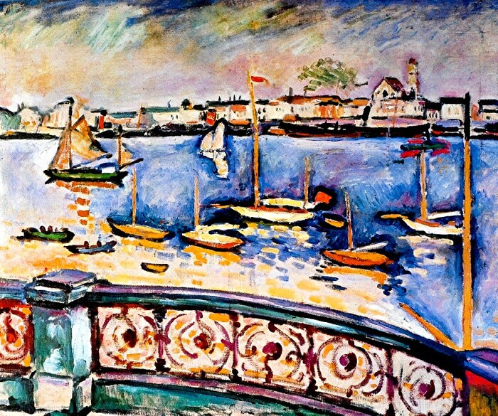 Braque / 1 /  1906: le port d'Anvers