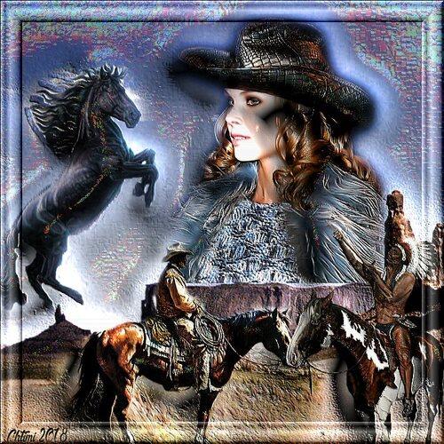 Le defie  les chevaux