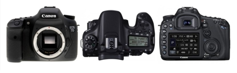 (10/2014) Canon EOS  7D  - capteur CMOS au format APS-C x1.6