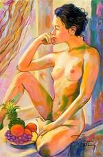 Peinture de Gilles Rousset