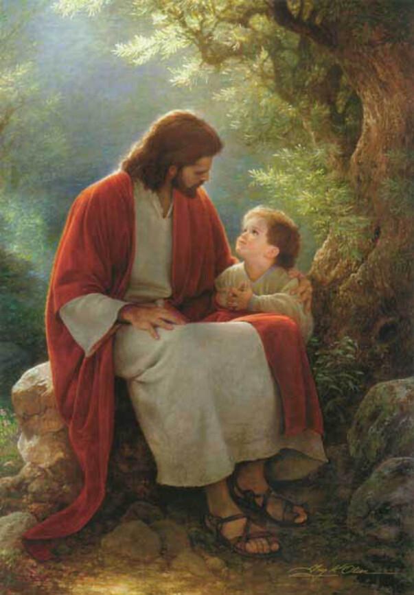 Jésus prie à vos intentions de prières