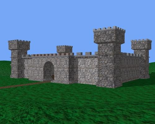 Ma version du château