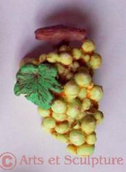 boutonniere de fete raisin - Arts et Sculpture: sculpteur, artisan d'art