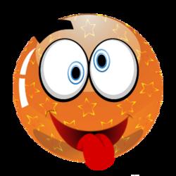 Smily Couleur Orange