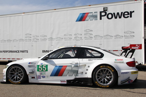 12 ALMS BMW Team RLL - BMW M3 E92