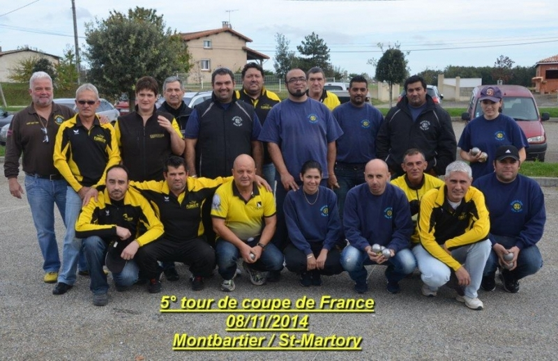 5ème tour de Coupe de France MONTBARTIER / ST.MARTORY