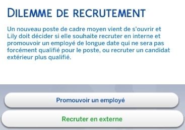 Dilemne de recrutement