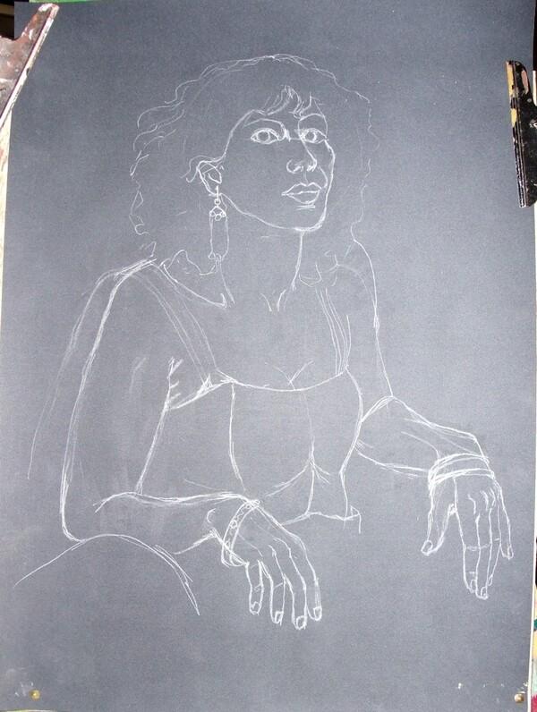 Dimanche - Portrait de femme