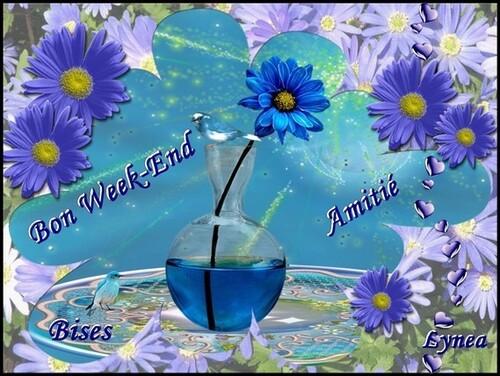 bonne fin de semaine .....