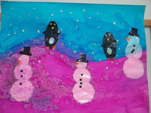 Arts visuels d'hiver (suite)