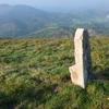 Ancienne borne monolithe dressé (595 m)