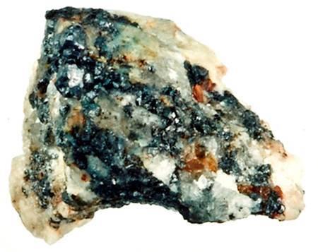 Un échantillon de la météorite de Khatyrka trouvé en Russie où un puis deux quasicristaux ont été trouvés.