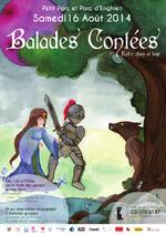 Ballades contées - A l'ombre de la 9e lune - Samedi 16 août 2014