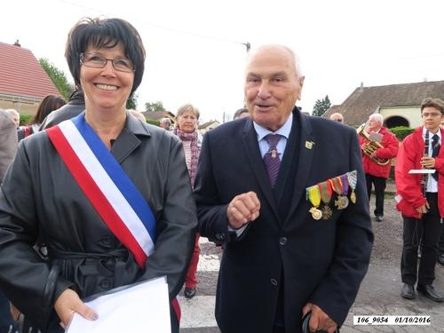 * Champagney: 72ème anniversaire de la libération d'Éboulet le samedi 1er octobre 2016