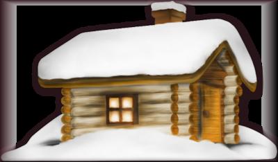 Tube maison de Noel 2972