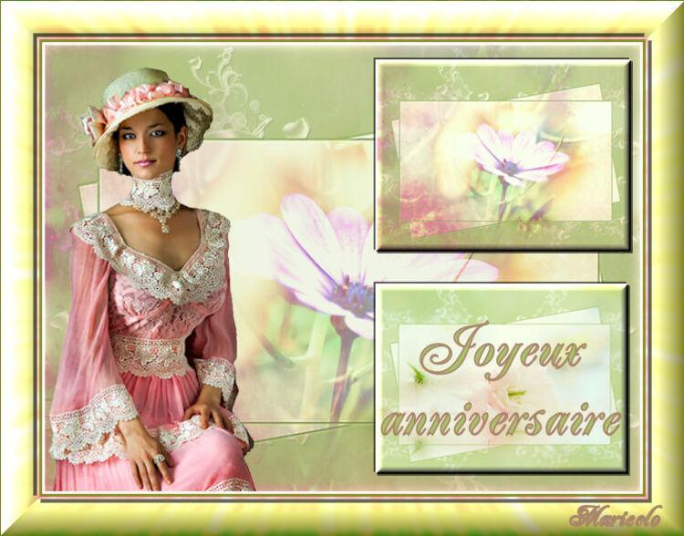 Joyeux anniversaire Lucette