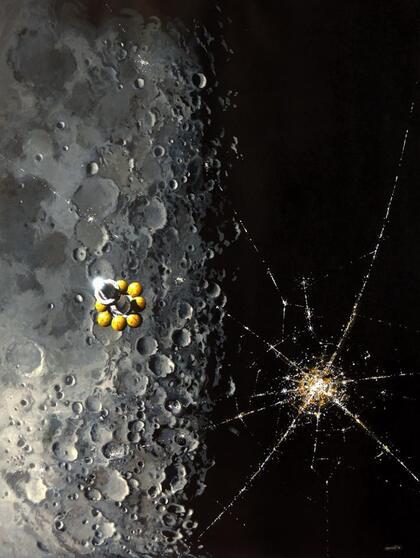 La couverture du tome 1 de Luna de Ian McDonald