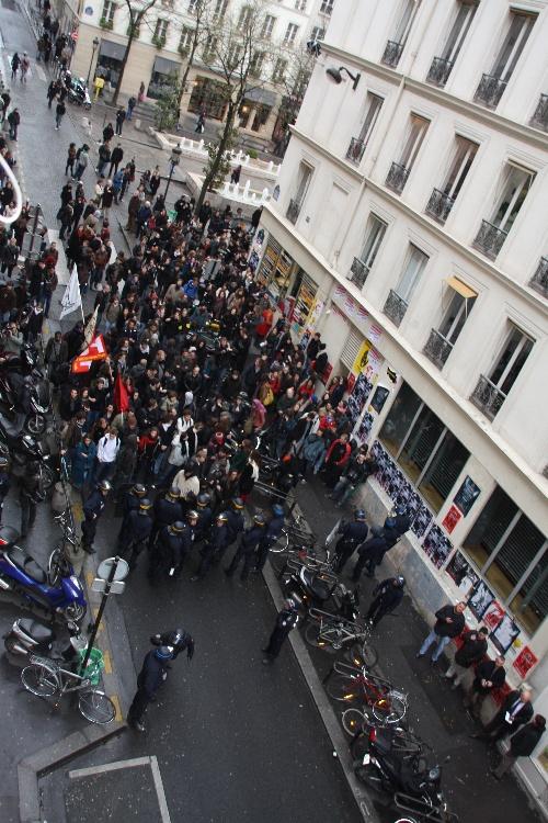 L'appel de la Sorbonne et la Sorbonne occupée