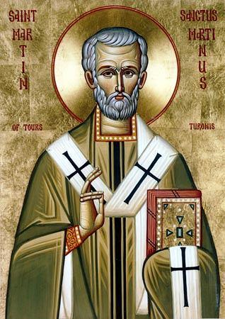 Saint Martin de Tours, Evêque († 397)