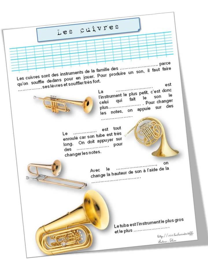Extrêmement Les familles d'instruments - la classe de stefany YH19